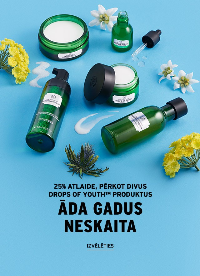 Drops of Youth™ produkti: 2= -25%