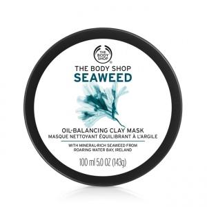 Jūras aļģu joniskā mālu maska