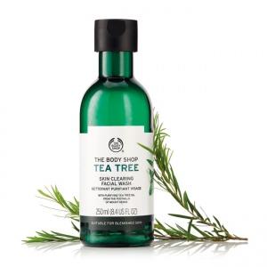 Tējas koka attīroša želeja sejai