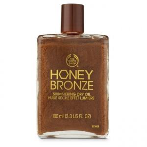 Honey Bronze™ sausā eļļa ar mirdzumu