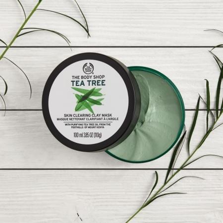 Tējas koka maska sejai