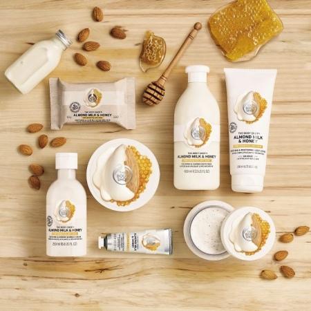 Mandeļu piena un medus ziepes