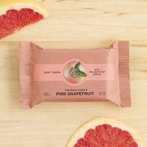 Rozā greipfrūta ziepes
