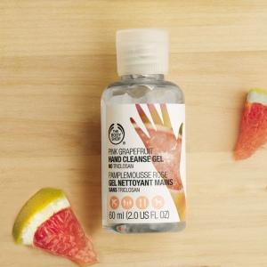 Rozā greipfrūta antibakteriāla želeja rokām