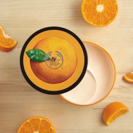 Sacumas mandarīna ķermeņa sviestkrēms