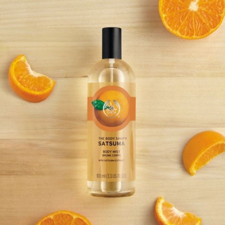 Sacuma mandarīna smaržūdens ķermenim