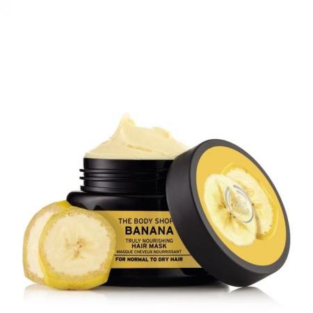 Banānu intensīvi barojoša maska matiem