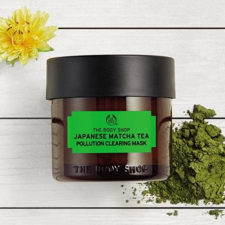 Japānas matcha tējas maska ādas attīrīšanai no piesārņojuma