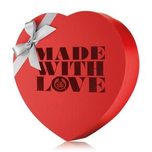 Dāvanu kastīte sirds formā