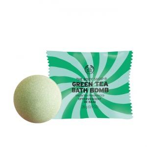 Zaļās tējas vannas bumba