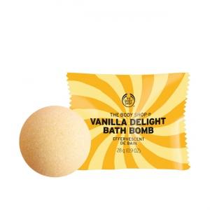 Vaniļas vannas bumba