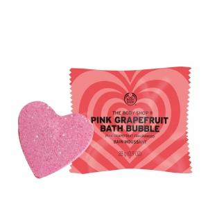Rozā greipfrūta vannas burbuļi