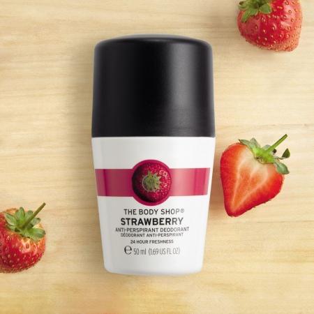 Zemeņu antiperspirants dezodorants