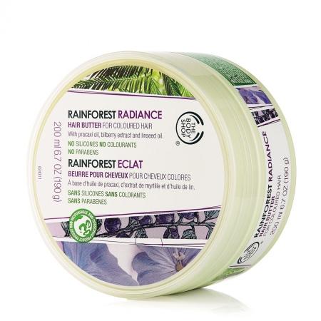 Rainforest sviestkrēms mirdzošiem matiem