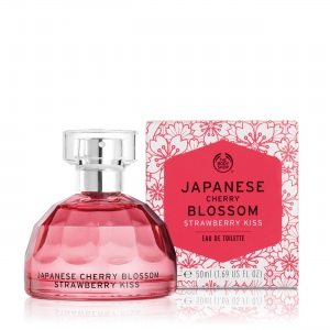 Japanese Cherry Blossom Strawberry Kiss tualetes ūdens