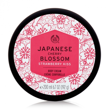 Japanese Cherry Blossom Strawberry Kiss ķermeņa krēms