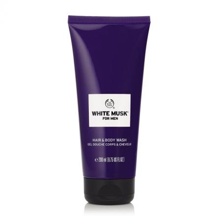 White Musk® For Men dušas želeja ķermenim un matiem