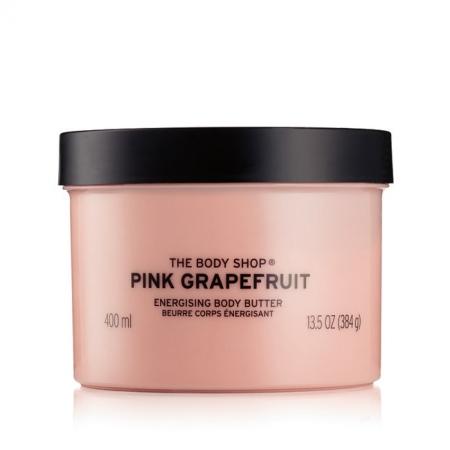 Rozā greipfrūta ķermeņa sviestkrēms