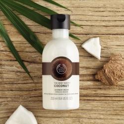 Kokosriekstu dušas krēms