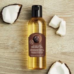 Kokosriekstu eļļa matiem