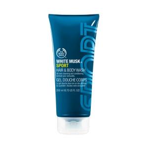 White Musk® Sport dušas želeja ķermenim un matiem