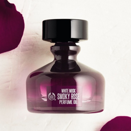 White Musk Smoky Rose parfīmeļļa
