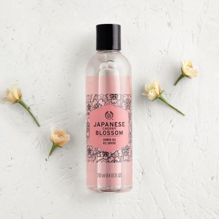 Japanese Cherry Blossom dušas želeja