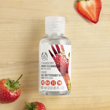 Zemeņu antibakteriāla želeja rokām