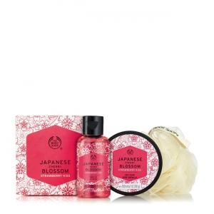 "Mini dāvanu komplekts ""Japanese Cherry Blossom Strawberry Kiss"""
