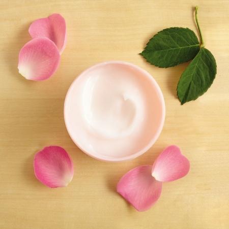 Britu rozes ķermeņa jogurts