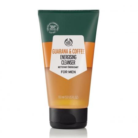 Guaranas un kafijas želeja sejas mazgāšanai vīriešiem