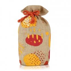 Džutas auduma dāvanu maisiņš