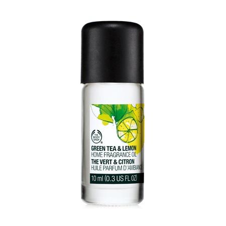 Zaļās tējas un citrona mājas aromāts