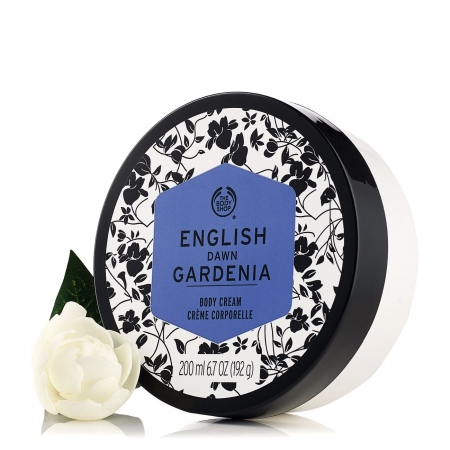 English Dawn Gardenia ķermeņa krēms