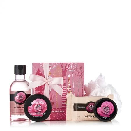 Britu rozes dāvanu komplekts