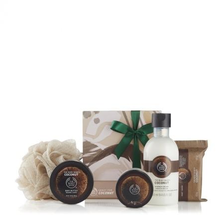 Kokosriekstu dāvanu komplekts