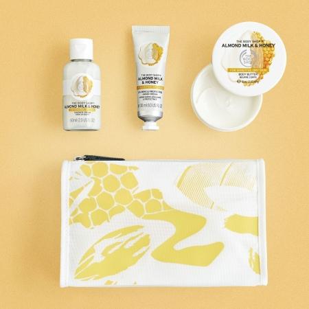 Mandeļu piena un medus dāvanu somiņa