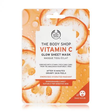 Тканевая маска для сияния кожи «Витамин С»