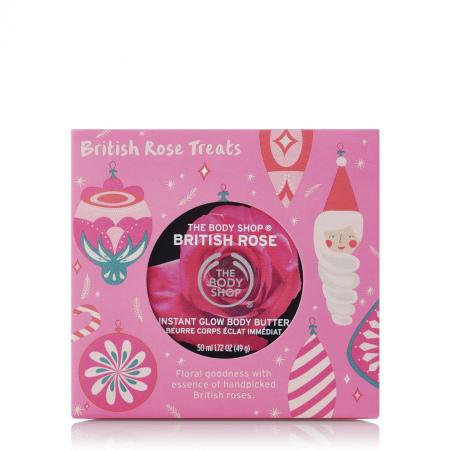 Britu rozes mini dāvanu komplekts