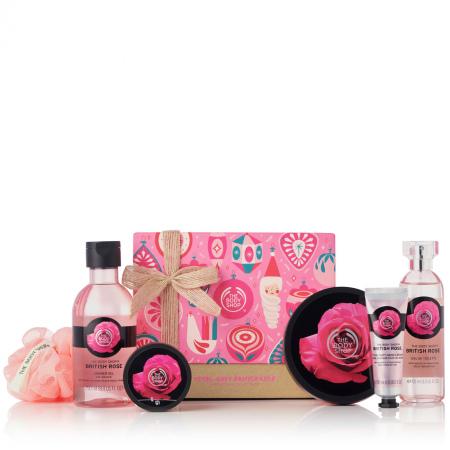 Britu rozes lielais dāvanu komplekts