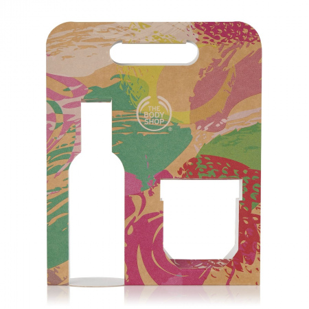 Подарочная упаковка для геля для душа и йогурта