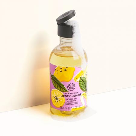 Sulīgā citrona dušas želeja