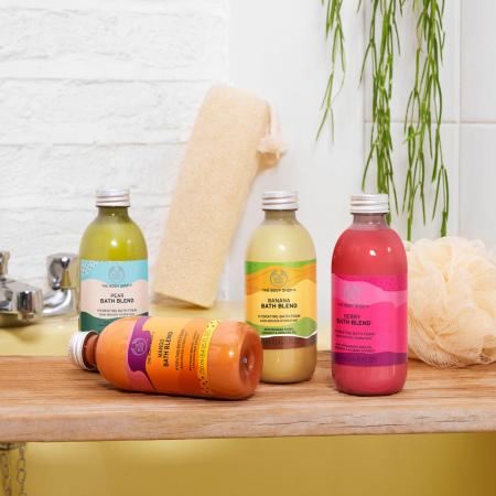 Mango smūtijs vannai un dušai