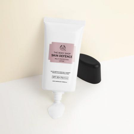 Skin Defence losjons sejas ādas aizsardzībai SPF 50+ PA++++