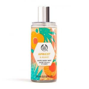 Aprikozes un agaves smaržūdens matiem un ķermenim