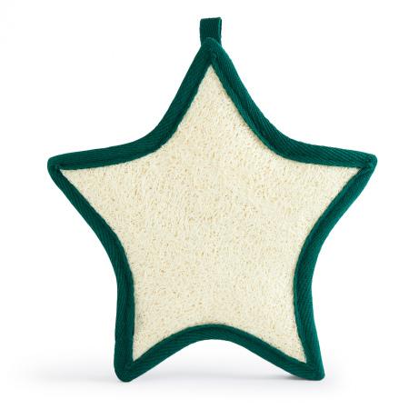 Lufas dušas sūklītis zvaigznes formā