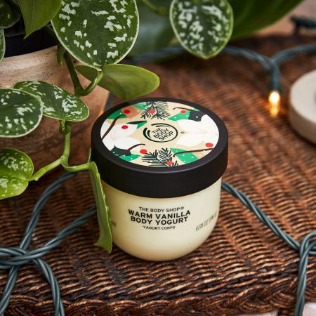 Крем-йогурт для тела «Теплая ваниль»