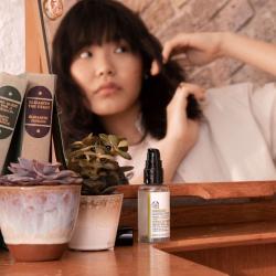Vīnogsēklu serums matu spīdumam