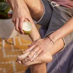 Защитный крем для ног Конопля