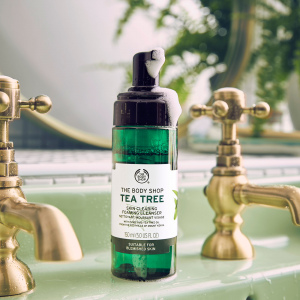 Tējas koka attīrošas putas sejai